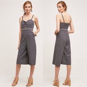 Anthropologie Elevenses Cropped Jumpsuit!
